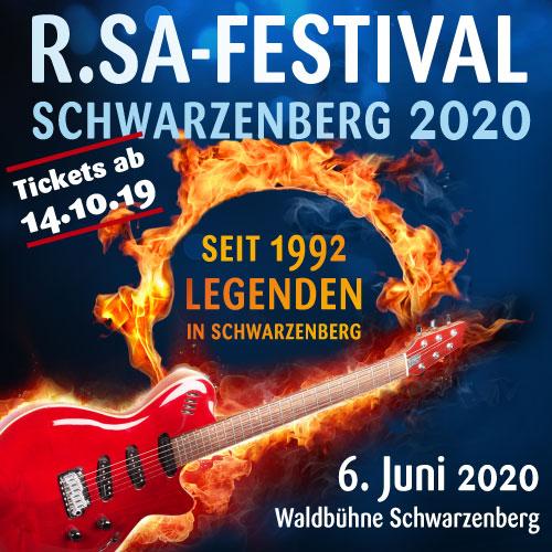 R.SA-Festival – Schwarzenberg 2020