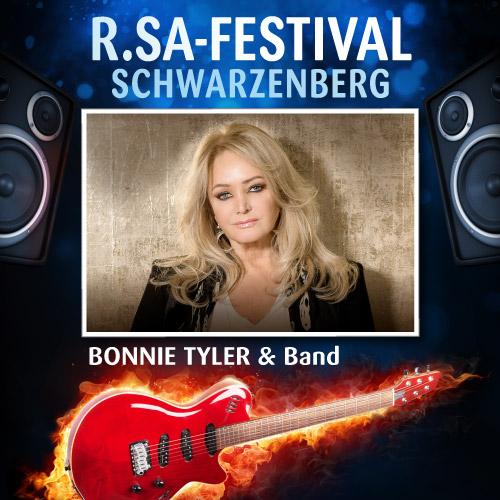 R.SA-Festival mit BONNIE TYLER & Band!