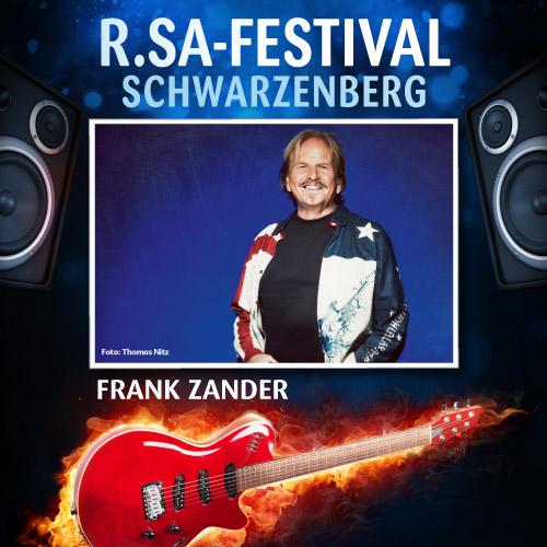 R.SA-Festival mit FRANK ZANDER!