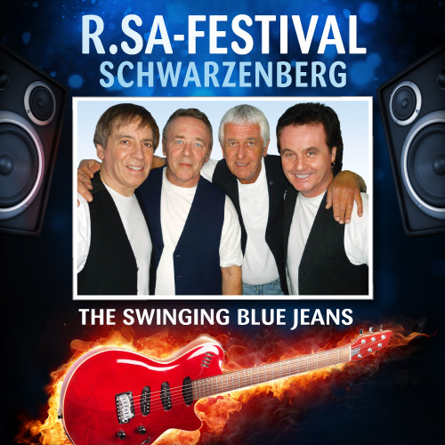 R.SA-Festival mit THE SWINGING BLUE JEANS!