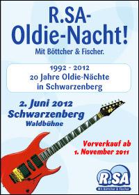 R.SA-Oldie-Nacht am 02. Juni 2012