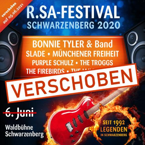 R.SA-Festival - Schwarzenberg 2020